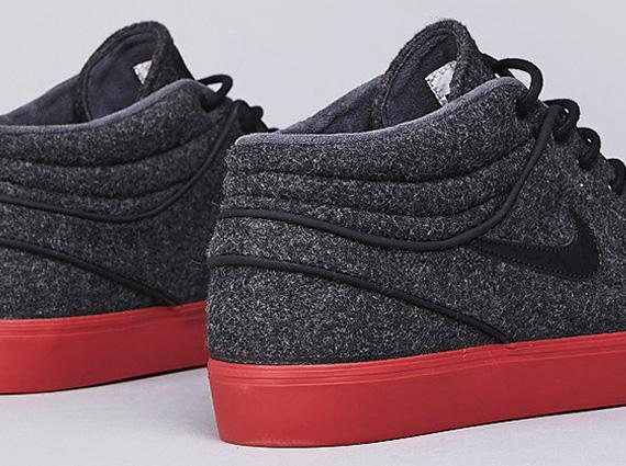 site officiel Nike Sb Stefan Janoski Mi - Noir - Couleur Terre Cuite réduction fiable remise QpPuXB