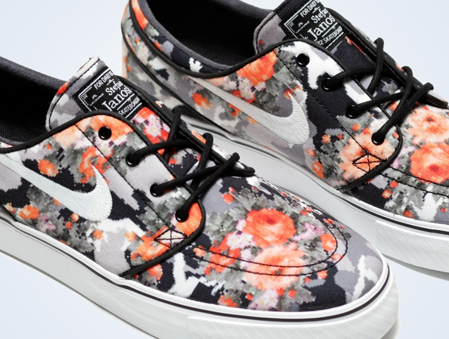 "23cc7f33a767 The Nike Stefan Janoski Digi Floral ""Mandarin"" will release on October  15th"