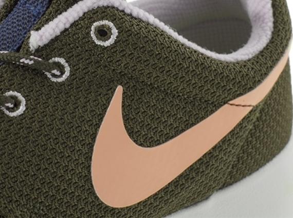 7b7ec4cd8821 Nike WMNS Roshe Run - Dark Loden - Medium Olive - Volt Frost ...