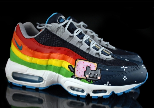 "Nike Air Max 95 ""Nyan Cat"" by Revive Customs"