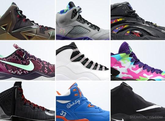 October 2013 Sneaker Releases