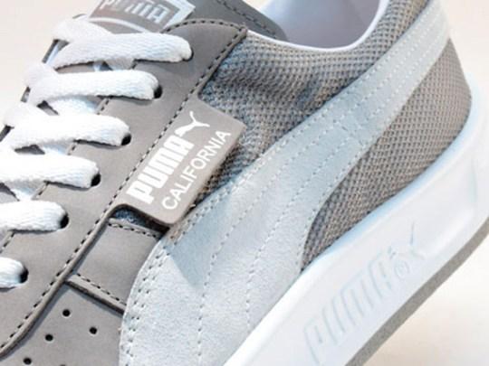 Puma California – Grey – White