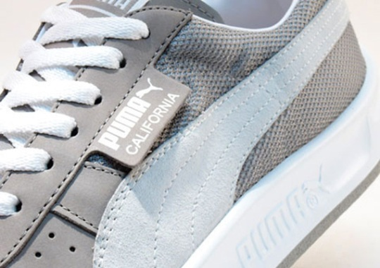 Puma California – Grey – White