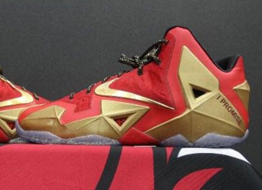 """Nike LeBron 11 """"Ring Ceremony"""" PE"""