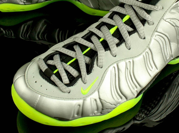 691f065dd72 ... best price silver lime nike air foamposite one sneakernews 70e82 c9d0e