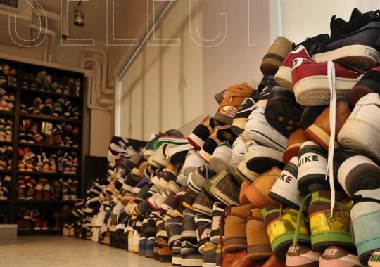 Inside the CLOT Sneaker Graveyard