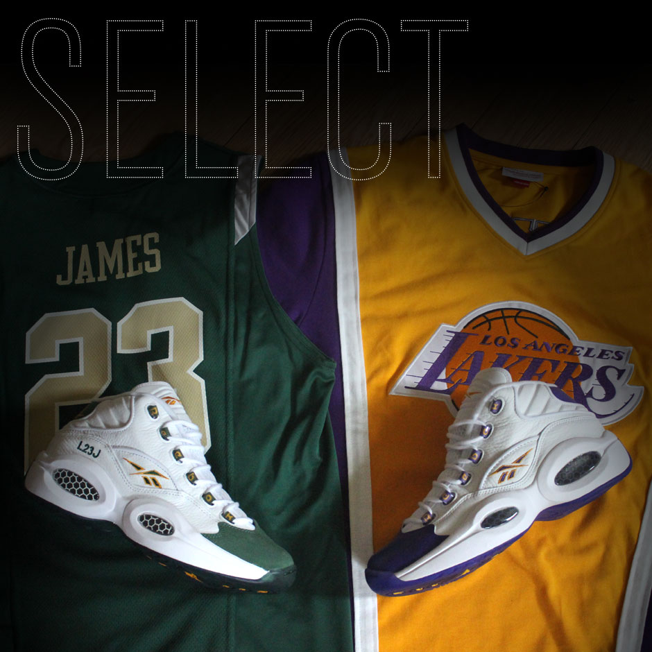 "53659cd6ebf2 Reebok Question ""For Player Use Only"" Pack  LeBron   Kobe s Lost PEs"