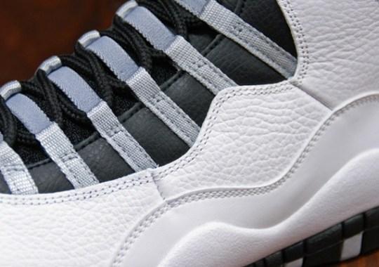 """""""Steel"""" Air Jordan 10"""