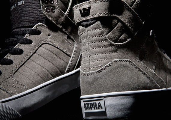 Supra Skytop – Grey – Black