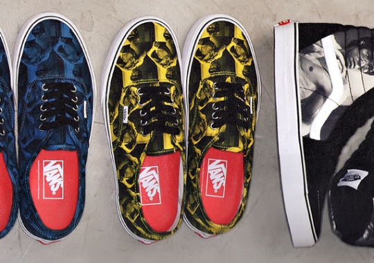 """Supreme x Vans """"Bruce Lee"""" Collection Preview"""