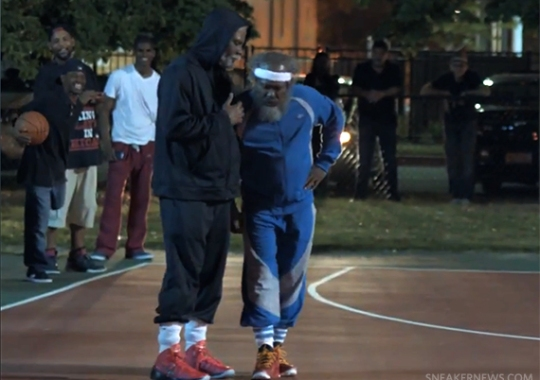 "Kyrie Irving, Nate Robinson, and Maya Moore in ""Pepsi Max – Uncle Drew: Chapter 3"""