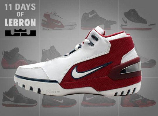 11 Days of Nike LeBron: Day 1 – Air Zoom Generation
