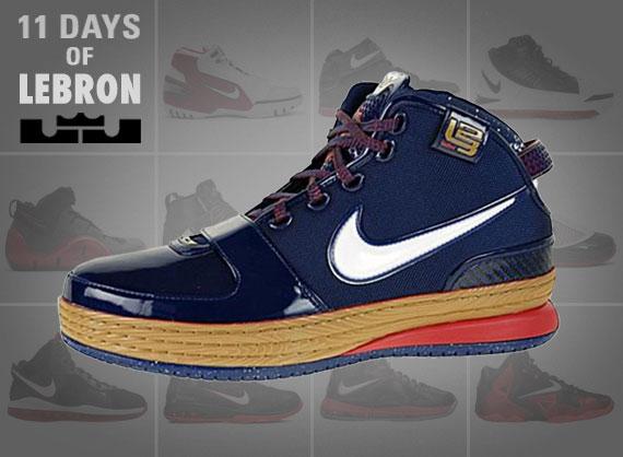 11 Days of Nike LeBron: The Zoom LeBron VI