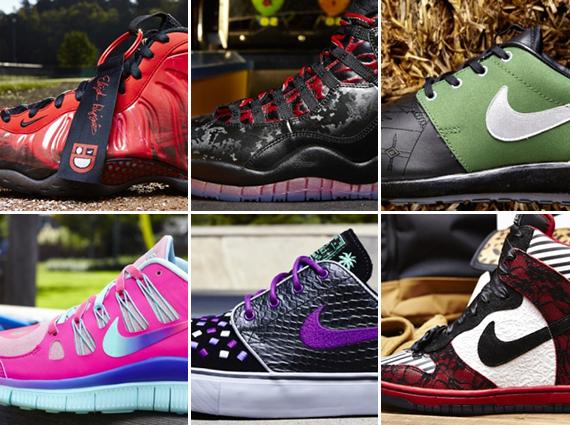 Nike Doernbecher Freestyle 2013 Collection Release Reminder Sneakernews Com