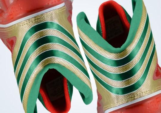 2a481e581332 adidas Crazy Light 3 – Metallic Gold – Vivid Green – Light Scarlet