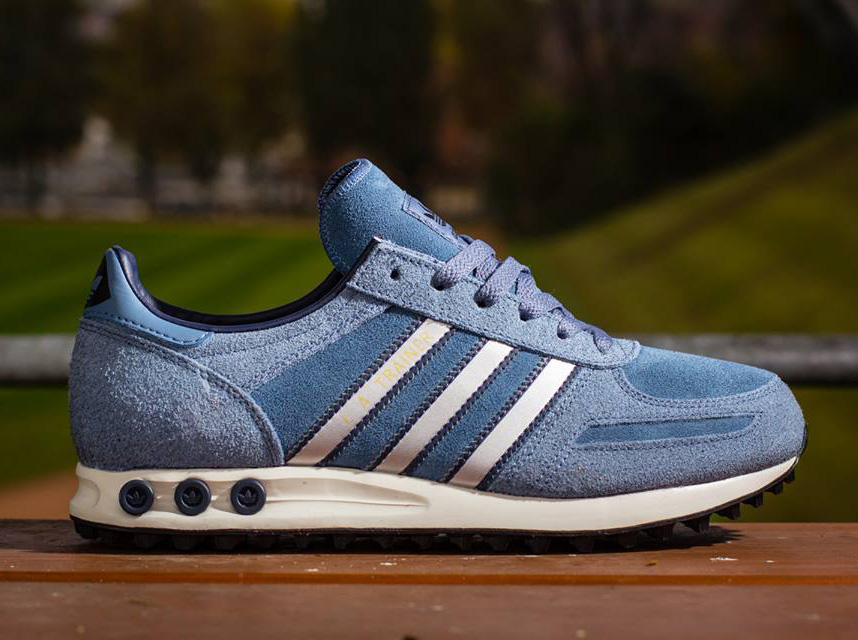 Adidas La Trainer Blue White