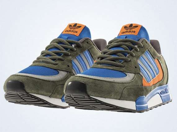 on sale 9386e f9d1c adidas Originals ZX 850 - Price Blue - Ear Green ...