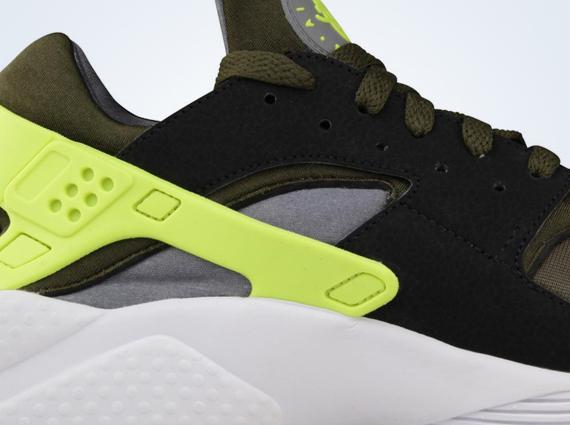 416670a80394 Nike Air Huarache - Dark Loden - Volt - SneakerNews.com