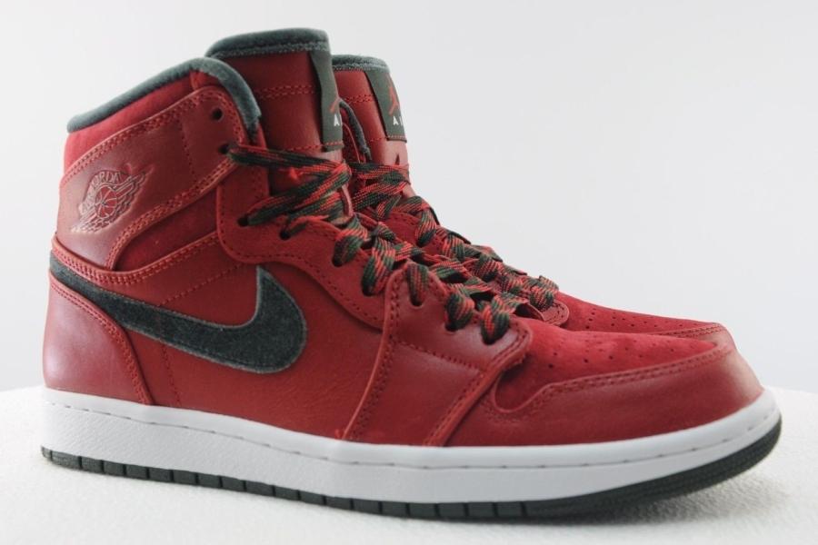 1d8c451392d0 Air Jordan 1 Retro Hi Premier Color  Varsity Red Dark Army-White Style  Code  332134-631. Release Date  12 02 13. Price   115. Advertisement