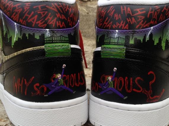 "Air Jordan 1 ""Joker"" by DeJesus Customs 181bec067e13"