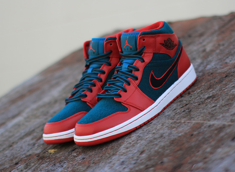 If you ve not yet had your fill of the Air Jordan 1 in 2013 then this one s for you The pair shown is of the Air Jordan 1 Mid persuasion more specifically