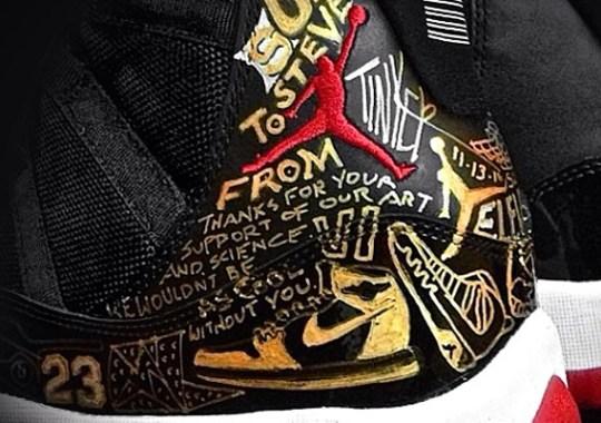 "Air Jordan XI ""Bred"" Customs by Tinker Hatfield"