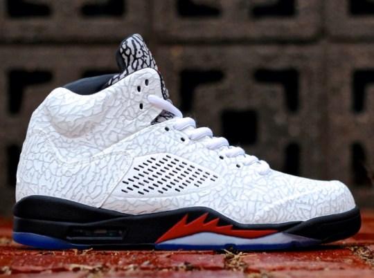 "Air Jordan ""Stay True Lab5"" Customs by PKZUNIGA"
