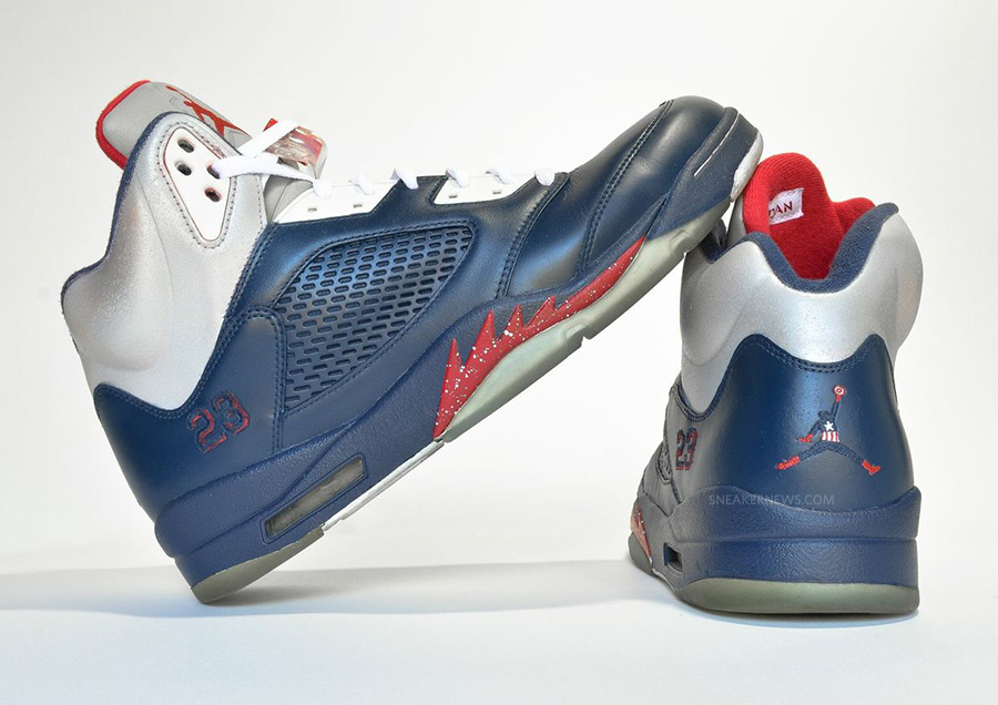 ee61045015e It s always a good look for a pair of custom sneakers to fiddle with the  color blocking on the sneaker that they re remixing. Proof comes in the  form of ...