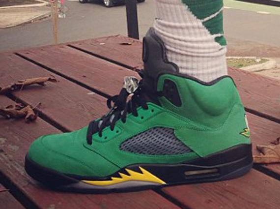 Best Nike Air Jordan 5 Retro Oregon Ducks