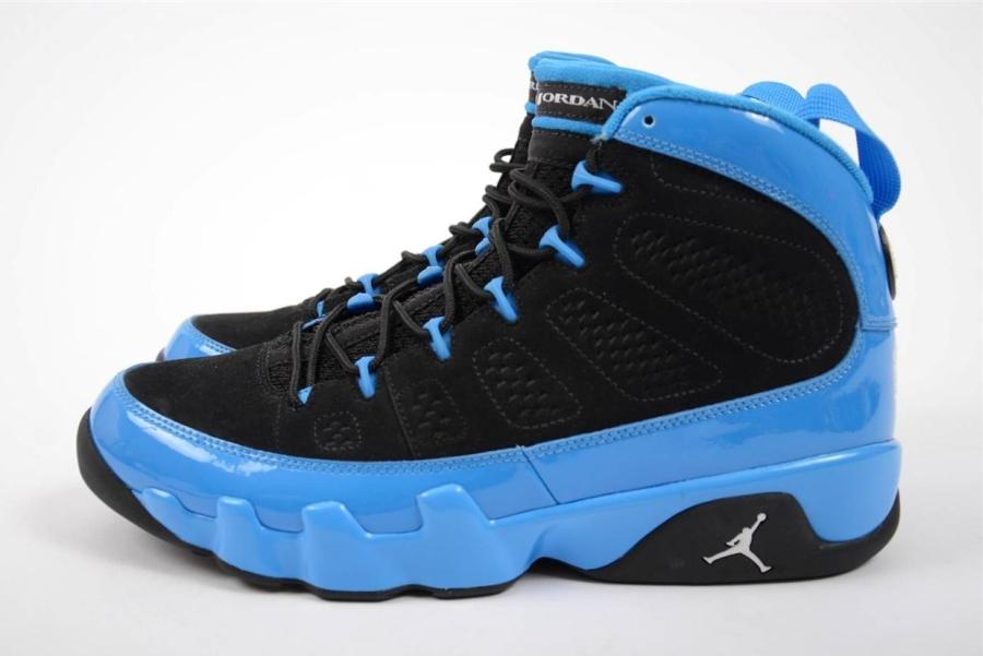 blue air jordans ebay