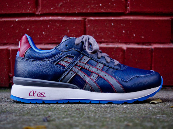 reputable site 47539 85205 Asics GT-II - Navy - Grey - Red - SneakerNews.com
