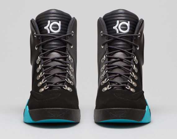 kd shoes high cut Kevin Durant shoes on