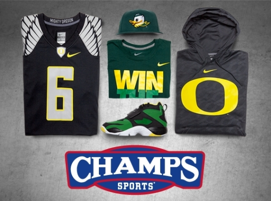 """The Game Plan"" by Champs Sports: Oregon Ducks"