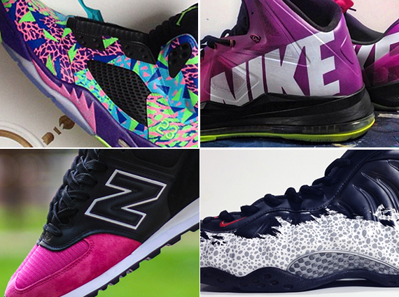 Each week the custom sneakers shown here on Sneaker News showcase all sorts  of styles that your favorite sneaker company would probably never bring to  ... 5f2d7b616