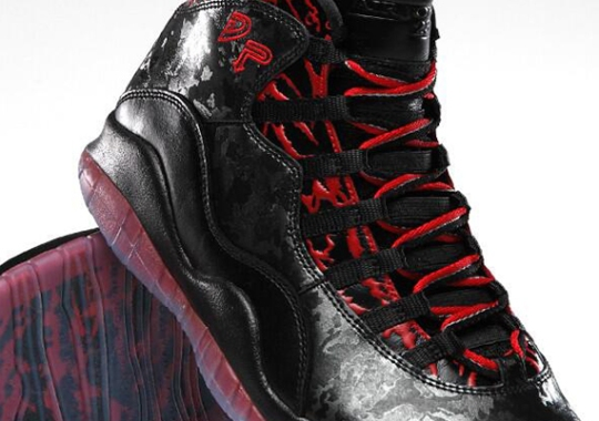 "Air Jordan 10 ""Doernbecher"" – Official Image"