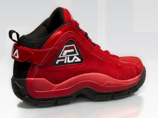 """Fila 96 """"Red Suede"""""""