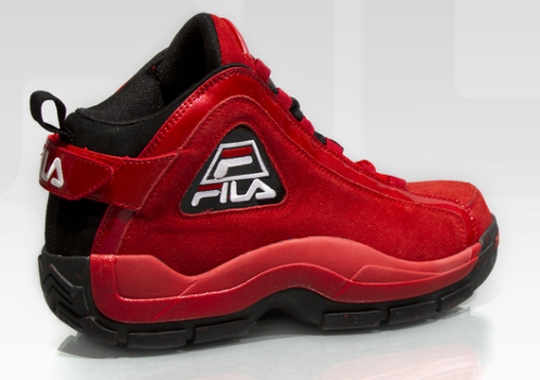 "Fila 96 ""Red Suede"""