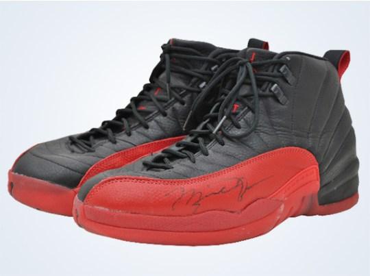 """Michael Jordan's Air Jordan 12 """"Flu Game"""""""