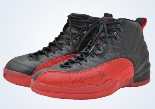 "Michael Jordan's Air Jordan 12 ""Flu Game"""