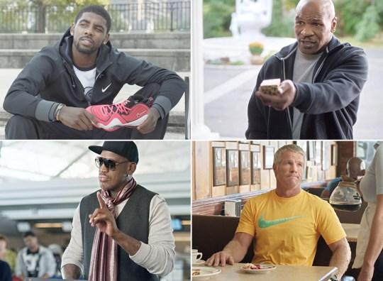 Foot Locker #WeekOfGreatness 2013 With Kyrie Irving, Dennis Rodman, Brett Favre, Mike Tyson, & More