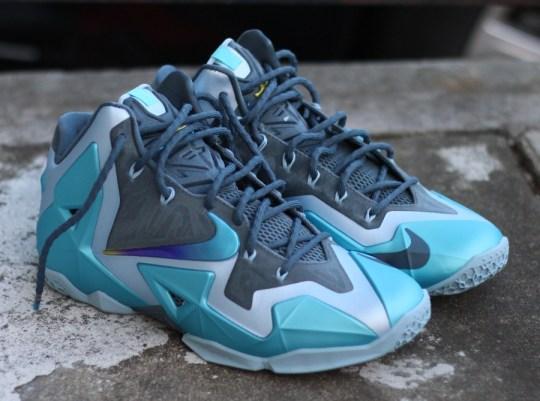 "Nike LeBron 11 ""Gamma Blue"" – Arriving at Retailers"