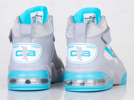 Nike Air Force Max CB 2 Hyperfuse - Wolf Grey - Gamma Blue ... 055872bea