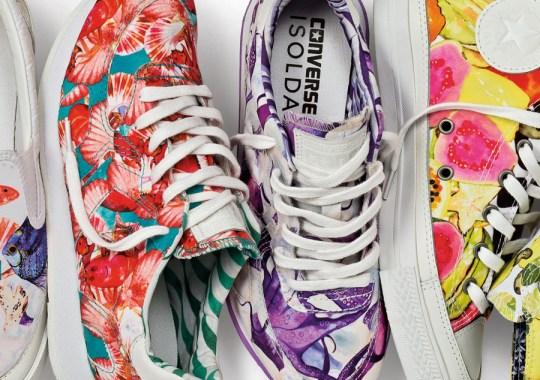 "Isolda x Converse ""Brazilian Print"" Collection"