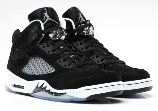 newest a260b 24ca8 Air Jordan V Oreo - SneakerNews.com