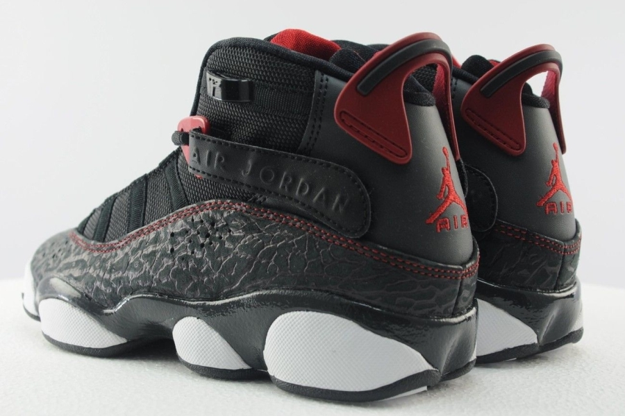 905ed14d8d0 Jordan 6 Rings GS Color  Black Gym Red-White Style Code  323419-020. show  comments