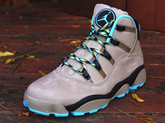 Jordan Winterized 6 Rings - Khaki - Gamma Blue - Varsity ...