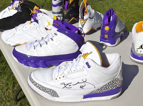 Kobe Bryant in Jordans? Sneaker game neophytes may not remember it but  there was indeed a point when the Black Mamba's relationship with Nike was  just a ...