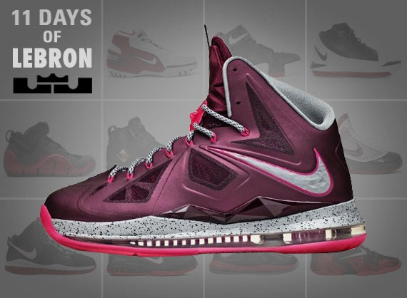 11 Days of Nike LeBron: The LeBron X