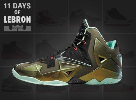 11 Days of Nike LeBron: The LeBron XI