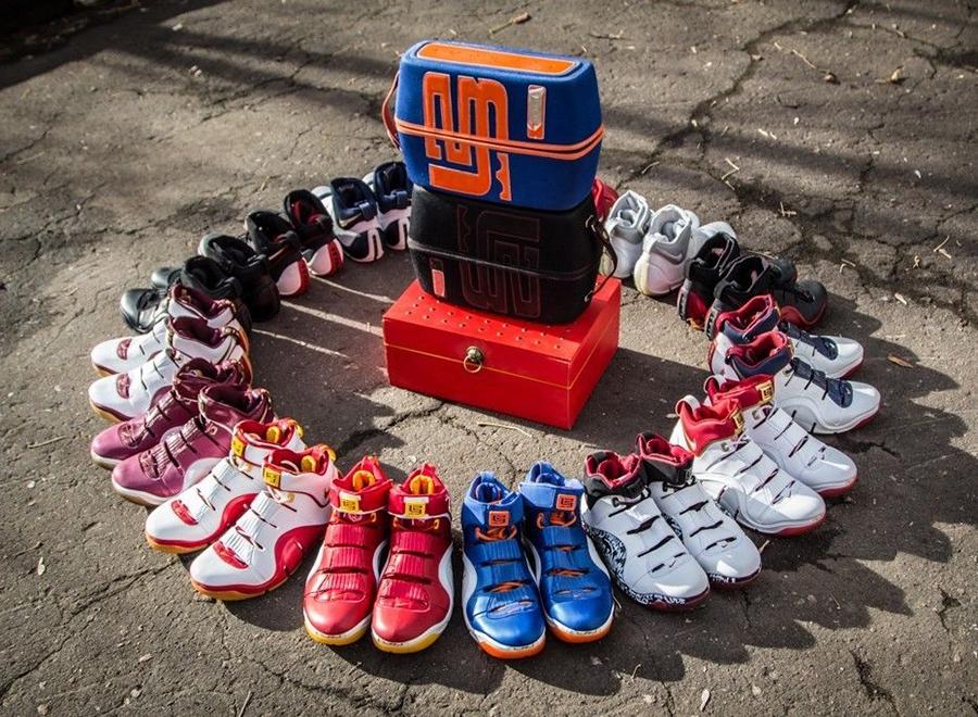 713d9034b7b Nike Zoom LeBron IV Lot on eBay - SneakerNews.com